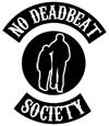no deadbeat society
